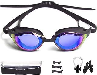 Peacoco Swimming Goggles, No Leaking Swim Racing...