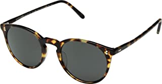 5a1ecc918e Oliver Peoples OV5183S 1407P2 Vintage DTB O'Malley Sun Round Sunglasses  Polarised Lens Category 3