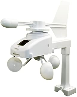 Mobile Alerts MA 10660 Windsensor, extra sensor, gegevensoverdracht op de smartphone, alarm via push-bericht, wit, 18,5 x ...