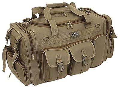 "Nexpak 26"" Tactical Duffle Military Molle Gear Shoulder Strap Range Bag TF126 TAN Tan"