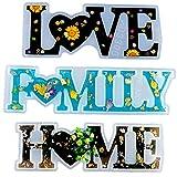 Aiboria Love Home Family - Stampi in resina epossidica per decorazioni fai da te e per la tavola fai da te