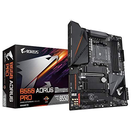 Gigabyte B550 AORUS Pro ATX Mainboard Sockel AM4 M.2/HDMI/USB3.2
