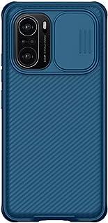 حافظة CamShield متوافقة مع Redmi K40/بوكو F3، جراب واقي لهاتف Redmi K40 مع واقي كاميرا من البولي كربونات الصلب وحافظة هاتف...