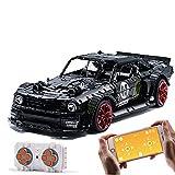 Modelo de bloque de construcción de autos deportivos técnicos, 2943pcs RC Ladrillos de construcción de autos fuera de carretera con motor compatible con LEGO (55 * 25 * 15 cm),Power kit version