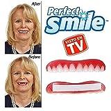 Perfect Smile 2x1 - La increíble e instantánea FUNDA DE CARILLAS reutilizable y extraíble que te proporciona el aspecto de unos dientes...