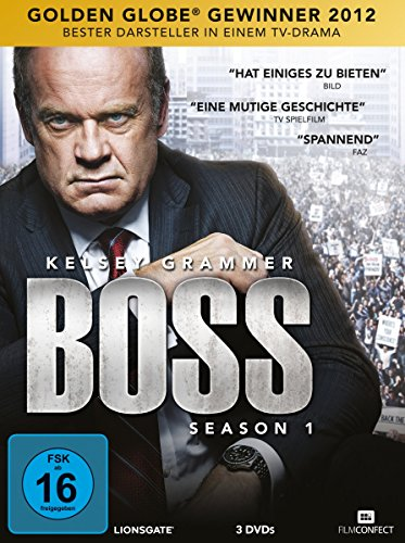 Boss - Season 1 - German Release (Language: German and English) (3 DVD-Box)