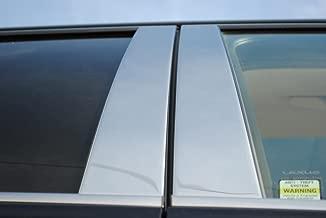 HONDA Accord Sedán 4 Puerta Exterior de Acero Inoxidable Cromo Mensajes Pilar trimado Ajustado 2003 2004 2005 2006 2007