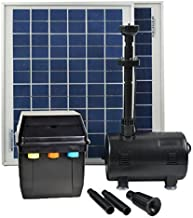 ASC Solar Panel with Water Pump Battery/Timer Control System and LED Lights With Winter Mode (20 Watts)
