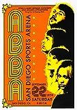 ELITEPRINT ABBA Classic A3 Vintage Band Rock Blues