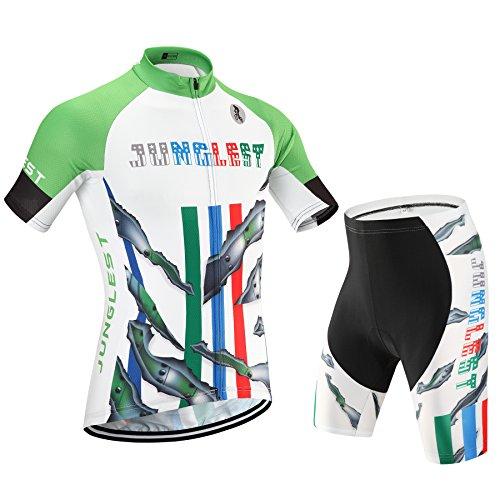 junglest (Cojín 3D)(Traje tamaño:XXXL) sudo Ciclismo Transpirable Rendimiento 2016 Moda para Jerseys...