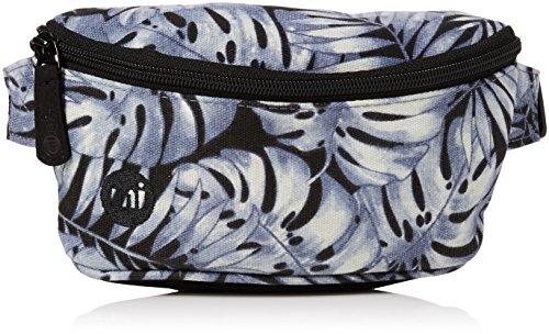 Mi-Pac Slim Bum Bag Riñonera de Marcha, 22 cm, 2 litros, Tropical Grey