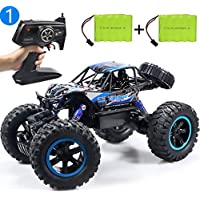JDBABY Off-Road Monster Remote Control Truck With Two Rechargeable Batteries (Blue)