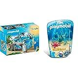 Playmobil- Acuario, única (9060) + Pulpo con Bebé 9066