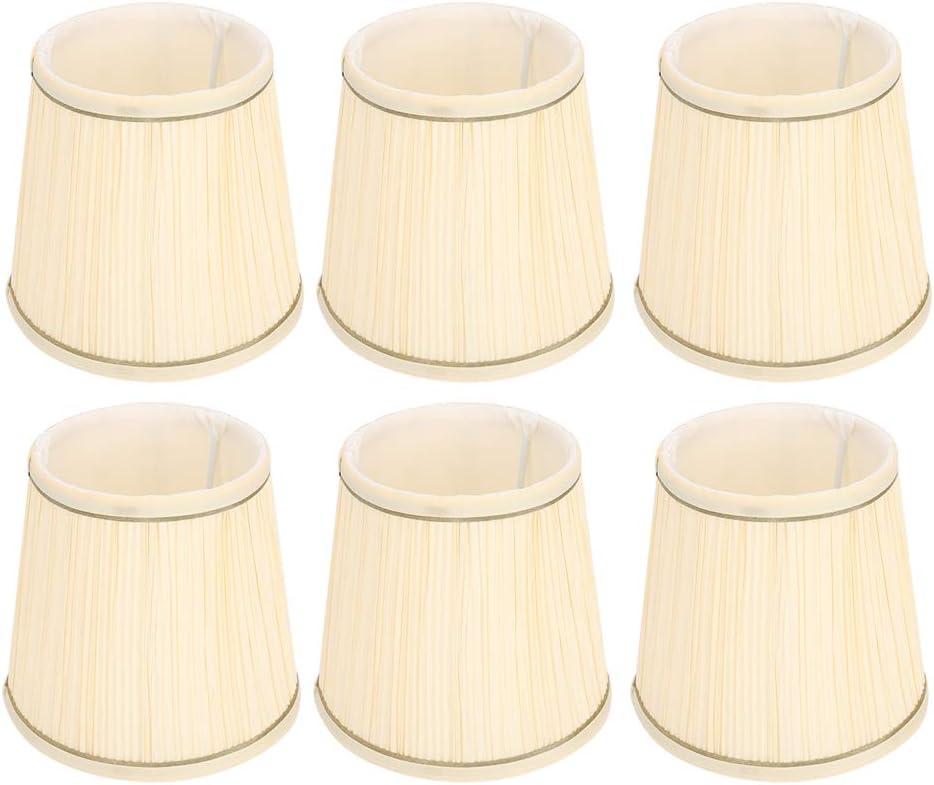 6PCS Barrel New High order Free Shipping Shape Lampshade Fabric Lamp Cover Wall Cha