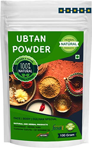 Ubtan Powder (Sunnipindi Bath Powder,Tanning & Glowing Skin, Naalnga Maavu) Bridal, Skin Whitening, Dulhan - 200Gram