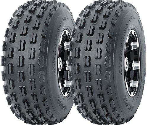 2 New WANDA Sport ATV Tires 19x7-8 4PR - 10035