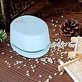 Limpiador de mesa, interruptor de un botón Mini aspiradora Potencia de succión fuerte Carga rápida Tamaño pequeño para oficina en el aula