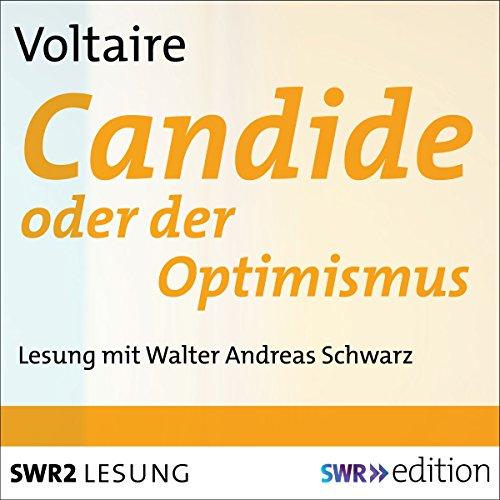 Candide oder der Optimismus audiobook cover art