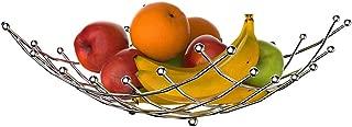 BBLHOME Fruit Bowl Basket Holder Multi Purpose Countertop Stand Fruit Bowl - Display Tray for Fruit, Vegetables, Snacks, Bread