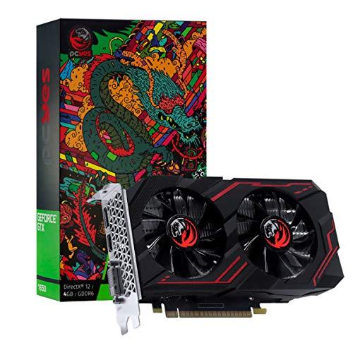 PLACA DE VIDEO NVIDIA GEFORCE GTX 1650 4GB GDDR6 128 BITS DUAL-FAN GRAFFITI SERIES - PA1650412820DR6 – PCYES
