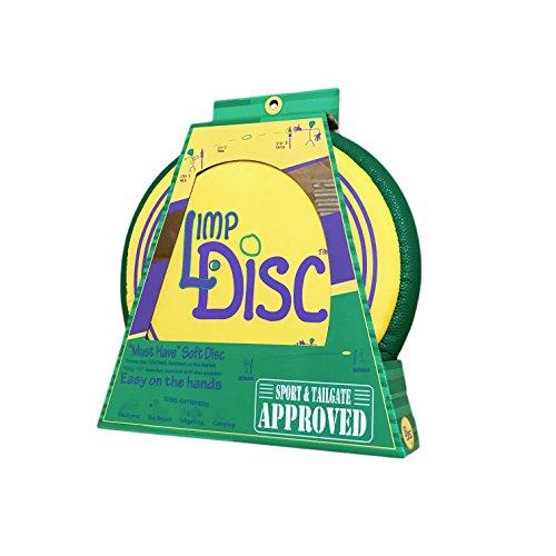 Bottle Bash Limp Disc Ultimate Soft Throwing Disc (Polish Horseshoes, Beersbee)