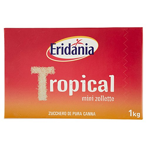 Eridania - Tropical, Mini Zollette, Zucchero Di Pura Canna - 1000 G
