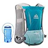 Lixada Hydration Pack Hydration Vest Lightweight Breathable Water Bottle Backpack for Outdoors Running
