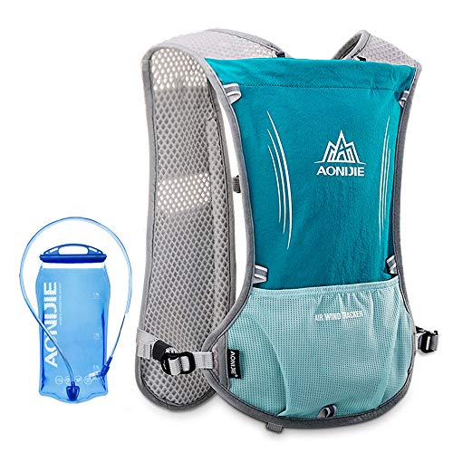 Lixada 5L Outdoor Hydration Pack Backpack with 1.5L Hydration Bladder For Camping Hiking Cycling Sport Bag (Light Green)