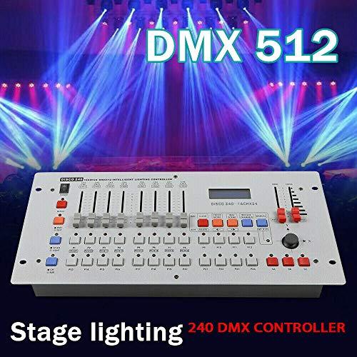 Profi DMX512 LED Controller Steuerpult Kanal Licht Steuerung DJ Operator Equipment