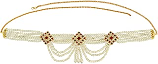 Anuradha Art Gold Finish Simple & Wonderful Beads Styled Belly Chain for Women/Girls