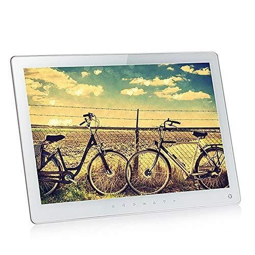Digitale fotolijst 15,6 inch HD IPS LCD-scherm Elektronisch fotolijst met HD Video/MP3/Elektronische foto/Reclame Display/Digitale klok/kalender