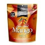 Forest Feast, Premium Dry Mango - Vegan Frutas Secas Snacks, 130 g