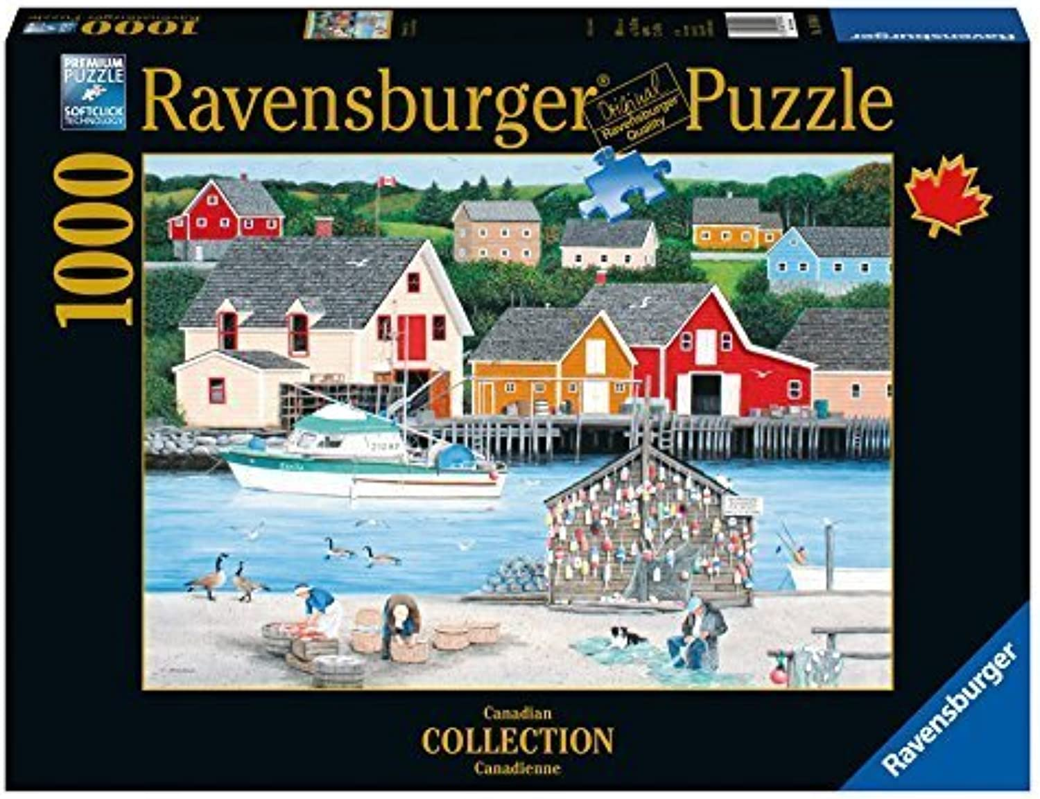 Ravensburger Fisherman's Cove Canadian Collection Canadienne Puzzle (1000Piece) by Ravensburger
