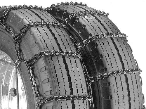 Security Chain Company QG4245 Quik Grip Typ DT Light Truck Doppel- und Dreifach-Reifen-Traktionskette, 1 Stück