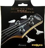 cuerda de guitarra Ibanez micro Bass Set IEBS4CMK (Herida níquel, 045-105 para Mirko Escala