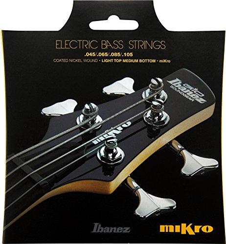 Ibanez IEBS4CMK Mikro Bass Saite Satz (Nickel Wound, 045-105) für Mirko Scale