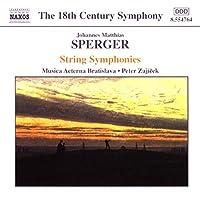 String Symphonies in C Major F Major & B Flt Major