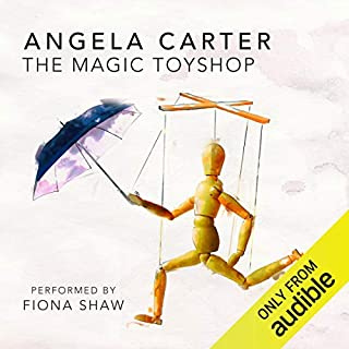 The Magic Toyshop audiobook cover art