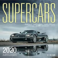 Supercars 2020: 16-Month Calendar - September 2019 through December 2020 (Calendars 2020)