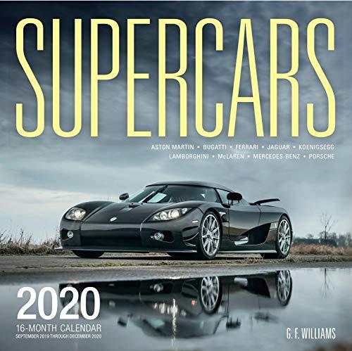 Supercars 2020: 16-Month Calendar - September 2019 through December 2020