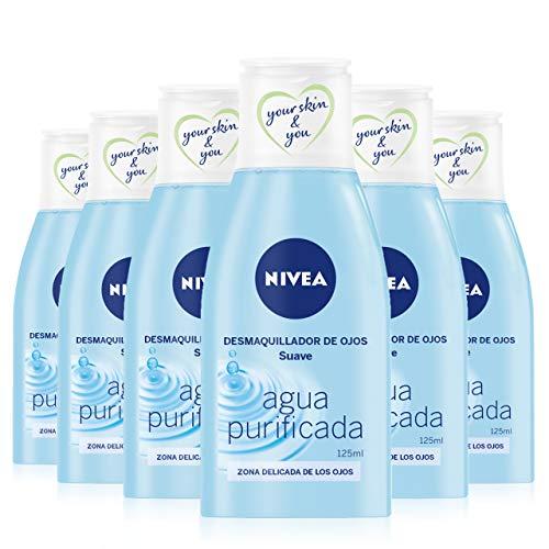 NIVEA Desmaquillador de Ojos Suave en pack de 6 (6 x 125...