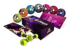 professional Zumba Exhilarate Body Shaping System DVD Set