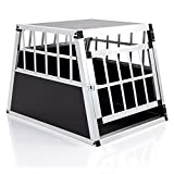 COZY PET Aluminium Car Dog Cage 10 sizes Travel Puppy Crate Pet Carrier Transport Model ACDC01. (We do not ship to the Channel Islands or The Isles of Scilly.)