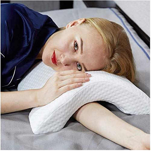 Armkissen Gedächtnisschaumkissen Mit Armloch, Anti-Hand-Taubschreibtischschläfchen-Schlafkissen Multifunktionsgesundheits-Hals-Paar-Kissen 2019 Patent, 2Er-Pack