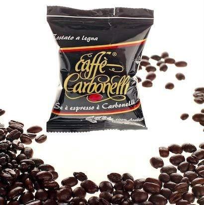 Caffè Carbonelli Miscela Arabica - Confezione da 100 Capsule – Compatibile Lavazza Espresso Point