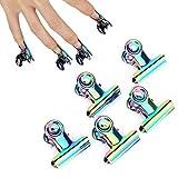 Clip di estensione per unghie in acciaio inossidabile Curve C Rotekt 5 pezzi Accessori per unghie multifunzionali