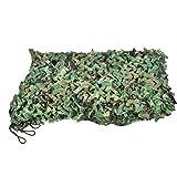 Red de Camuflaje , Camouflage Net Red de Camuflaje Militar Desert Ejército Combate Táctico Mallas de Protección Selva Camuflaje Red de Ocultar para Caza al Aire Libre Sombra Proteger de Viento(2M*3M)