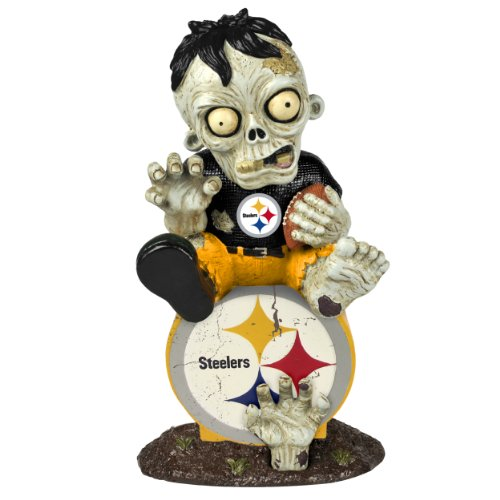 NFL Pittsburgh Steelers Zombie On Logo Figurine