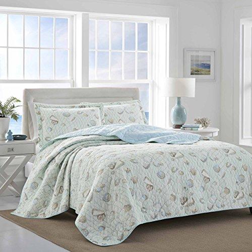 Laura Ashley Weekly Getaway Bedding, Full/Queen, Mint