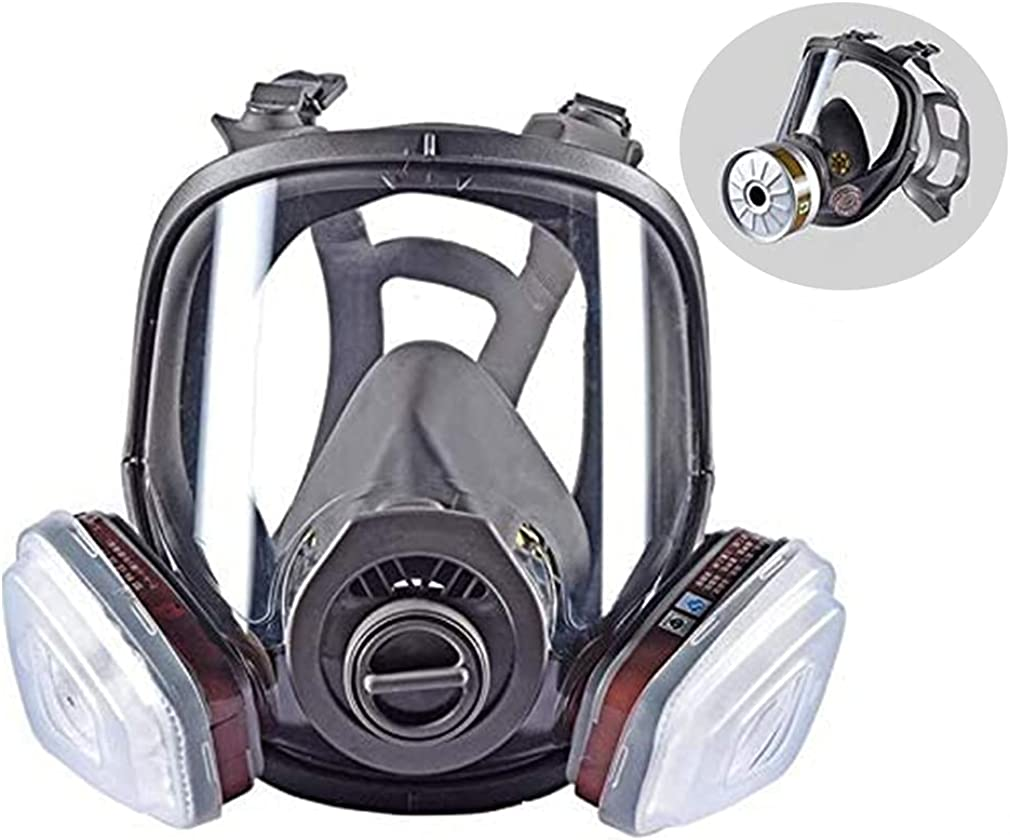 15in 1 online shopping Bombing new work Reusable Full Face Respirator Paint Widely Used in Spraye